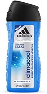 Adidas Climacool Shower Gel Men, confezione da 6 pezzi (250 ml x 6)
