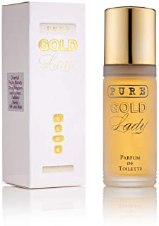 UTC Pure Gold Lady, Eau de Parfum Donna, 55 ml