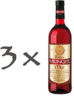 Roter Wikinger Met Honigwein Mit Kirschsaft - Pacco da 3