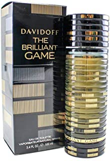 Davidoff The Brilliant Game Eau de Toilette Spray for Men 100 ml