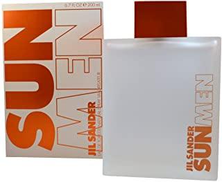 Jil Sander Sun, Eau de Toilette da uomo con vaporizzatore, 200 ml