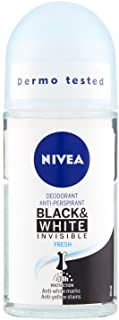 Nivea Deodorante Black & White Invisible Fresh Roll-On 50 ml
