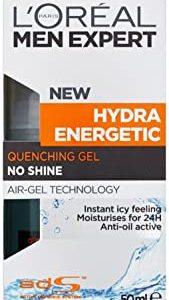L'Oreal Men Expert - Gel rinfrescante dopobarba Hydra Energetic, 50 ml