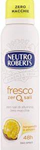 Neutro Roberts Deodorante Spray Fresco Bergamotto E Zenzero - 150 ml