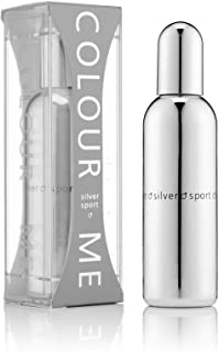 Colour Me, Silver Sport, Eau de Toilette spray da uomo, 90 ml