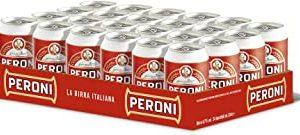 Birra Peroni - Cassa da 24 x 33 lattine, cl (7.92 litri)