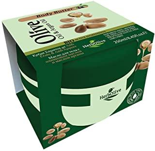 Crema Corpo all'Olio di Argan Herbolive, 1er Pack (1 x 250 ml)