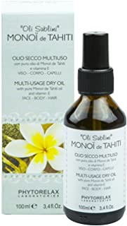 Phytorelax Laboratories Monoi De Tahiti Multi-Usage Dry Oil - 100 ml