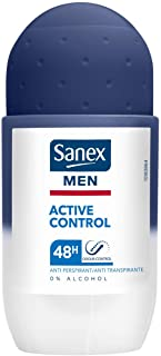 Sanex Deodorante, Men Active Control Deo Roll-On, 50 ml
