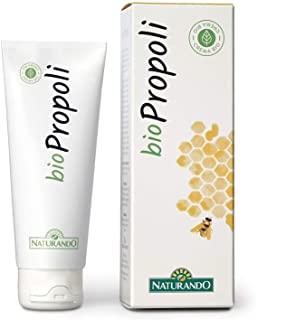 Naturando Biocrema Propoli da 75 ml. Crema Biologica Cicatrizzante e Disinfettante