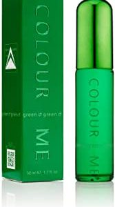 Colour Me Green, Eau de Toilette spray Uomo, 50 ml