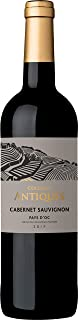 Collines Antiques, Cabernet Sauvignon, Pays d'Oc IGP, vino rosso, annata 2017, 750 ml