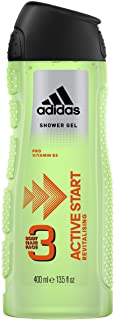 Adidas Shower Gel Active Start 3 In 1 - 400 ml