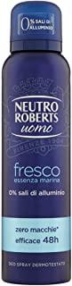 Neutro Roberts Deodorante Uomo Fresco Essenza Marina - 1 x 150 ml