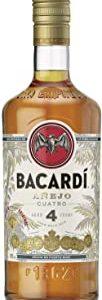 Bacardi Rum Anejo Cuatro - 700 ml