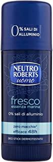 Neutro Roberts Deodorante Uomo Fresco Essenza Marina - 40 ml