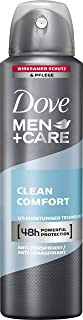 Dove, Men+Care, Deodorante spray Clean Comfort, 150 ml