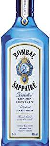 Bombay Sapphire London Dry Gin, 1000 ml
