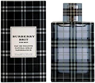 Burberry Brit for Men Eau de Toilette, Uomo, 50 ml