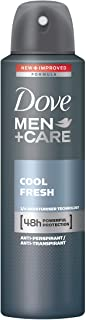 Dove Men Care Deodorante Cool Fresh Spray, Confezione da 6
