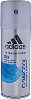Adidas, Climacool Deodorante Spray Uomo, 48 Ore di Freschezza, 3 x 150 ml