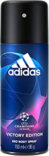 Adidas, Uefa Champions League Victory Edition Deodorante Spray Uomo, Freschezza A Lungo - 150 Ml