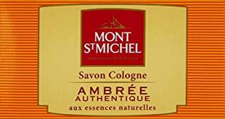 Mont St Michel - Colonia sapone solido - Ambra tradizionale - Lotto 125g
