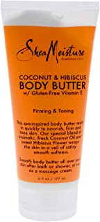 Shea Moisture Coconut & Hibiscus Body Butter with Gluten Free Vitamina E by Shea Moisture