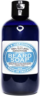DR K Soap Company Beard Soap Lime Barber size, 1 confezione (1 x 250 milliliters)
