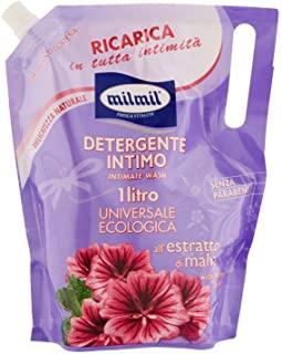 Mil Mil Detergente Intimo all'Estratto di Malva in Busta Ricarica - 1000 ml