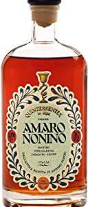 Distillerie Nonino, Amaro Nonino Quintessentia, Liquore d'erbe nobilitato da Acquavite d'Uva invecchiata in barriques - bottigli