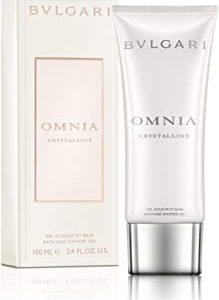 Bvlgari Omnia Crystalline Doccia Gel, Donna, 100 ml