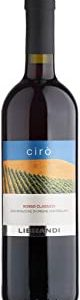 Librandi Vino Cira2 Rosso Classico Doc - 2018 - 6 Bottiglie da 750 ml