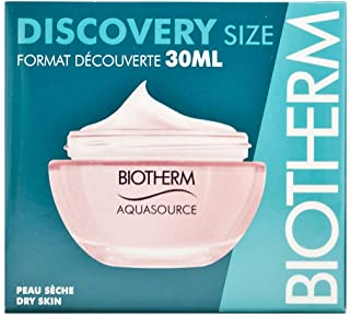 Biotherm Aquasource Crema, Pelle Secca, Donna, 30 ml
