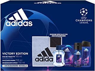 Adidas Confezione Regalo Uomo UEFA Champions League Victory Edition, 500 ml