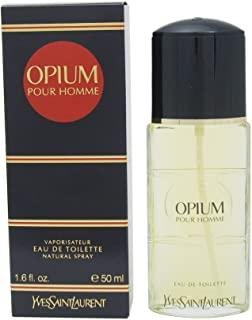 Yves Saint Laurent Opium Pour Homme Eau de Toilette, Uomo, 50 ml