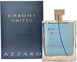 Azzaro Chrome United Eau de Toilette Spray per lui, 200 ml