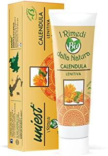 Uniest Crema LENITIVA CALENDULA BIOLOGICA - Ammorbidente ed Idratante - NATURALE - 100 ml