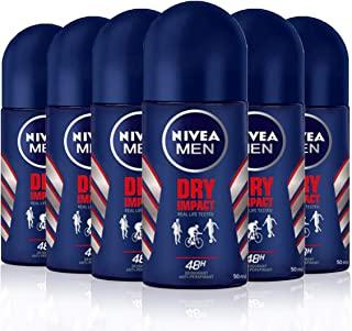 Nivea Men NIVEA Men Dry impact W2 50 ml (Paquete de 6)