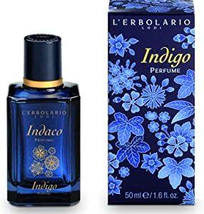 L'Erbolario - Eau de Parfum INDACO, con sacchetto di velluto, 50 ml