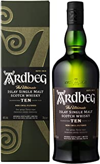 Ten Year Old Whisky Ardbeg con astuccio, 700 ml