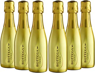 Bottega Gold Prosecco DOC  - 6 X 200 ml