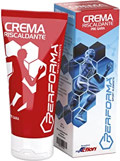 ProAction Performa Crema Riscaldante - Tubetto da 100 ml