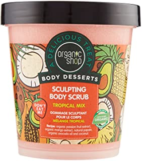 Organic Shop Scrub Corpo Modellante Tropical Mix - 680 Grammi