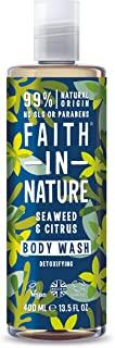 Faith in Nature Bagnoschiuma Naturale alle Alghe e Agrumi, Disintossicante, Vegano, senza Parabeni e SLS, non Testato su Animali