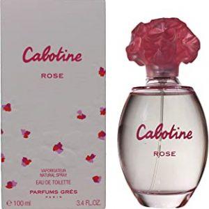 Cabotine Rose Eau de Toilette spray for Women de Gres 100 ml