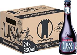 Birra del Borgo Lisa Birra - Pacco da 24 x 330 ml