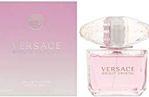 Versace Bright Crystal Eau De Toilette Donna, 100 ml