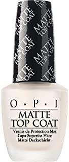 OPI Matte Top Coat Fissasmalto Effetto Matte - Trasparente - 15 ml