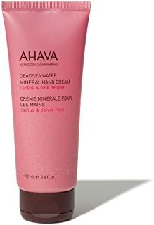 AHAVA Crema Mani Con Minerale Al Cactus E Al Pepe Rosa - 100 ml.